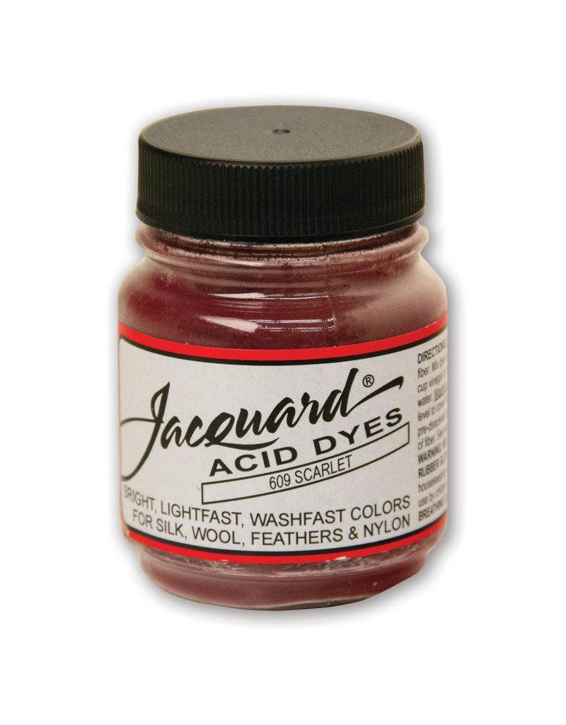 Jacquard Acid Dye .5 Oz Scarlet