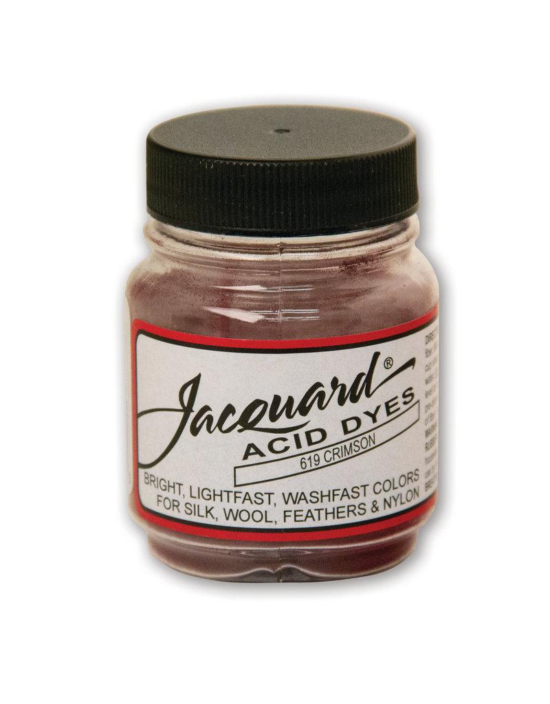 Jacquard Acid Dye .5 Oz Crimson