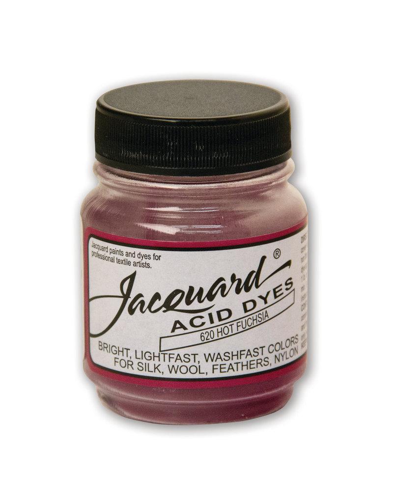 Jacquard Acid Dye .5 Oz Hot Fuchsa