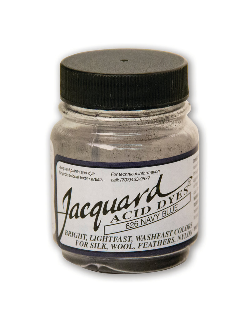 Jacquard Acid Dye .5 Oz Navy Blue