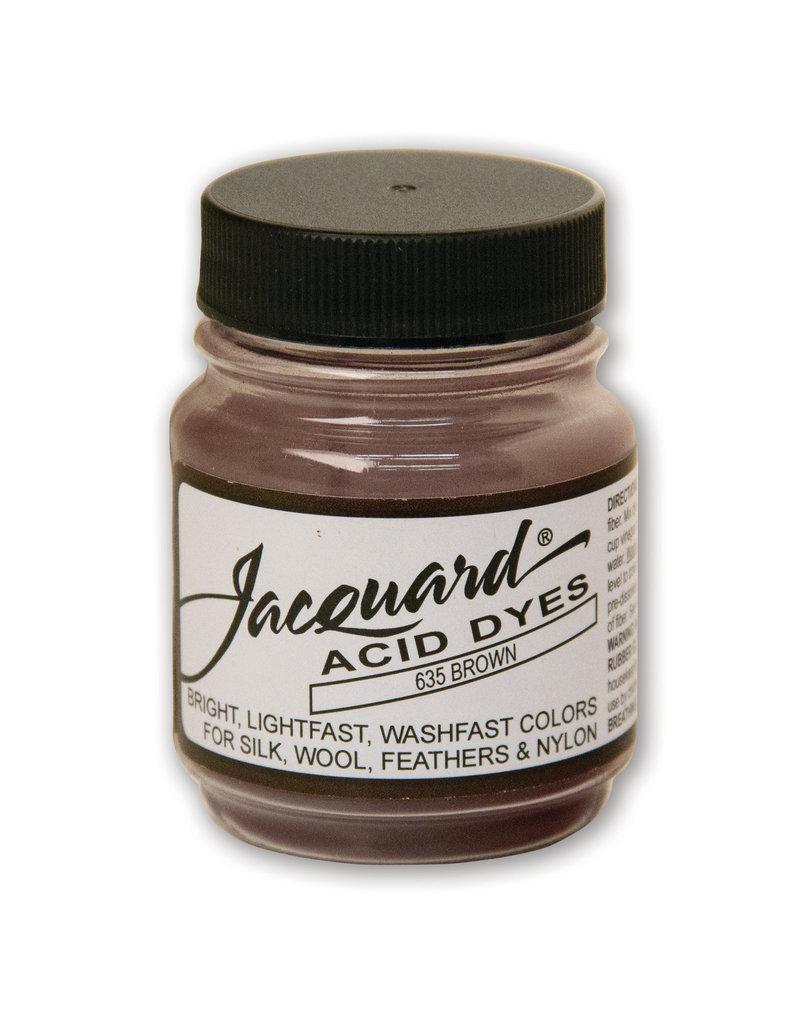 Jacquard Acid Dye.5 Oz Brown