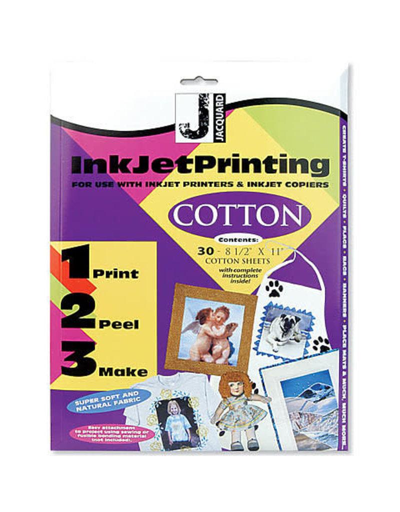 Jacquard Inkjet Cotton 8.5X11 10/Pk