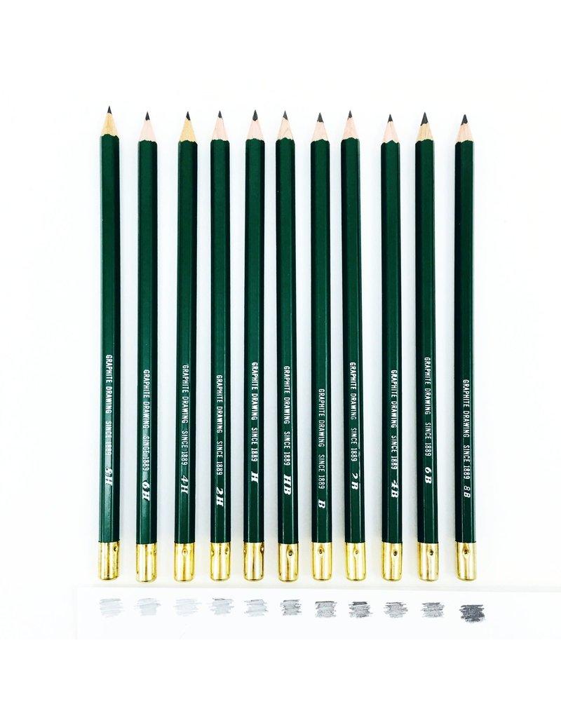 General Pencil Kimberly Graphite Pencil 4B