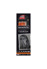 General Pencil Charcoal Drawing Pencil6/Set