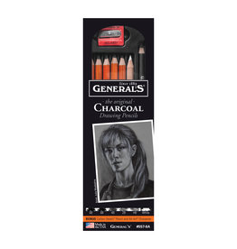 General Pencil Charcoal Drwing Pncl 6/Set