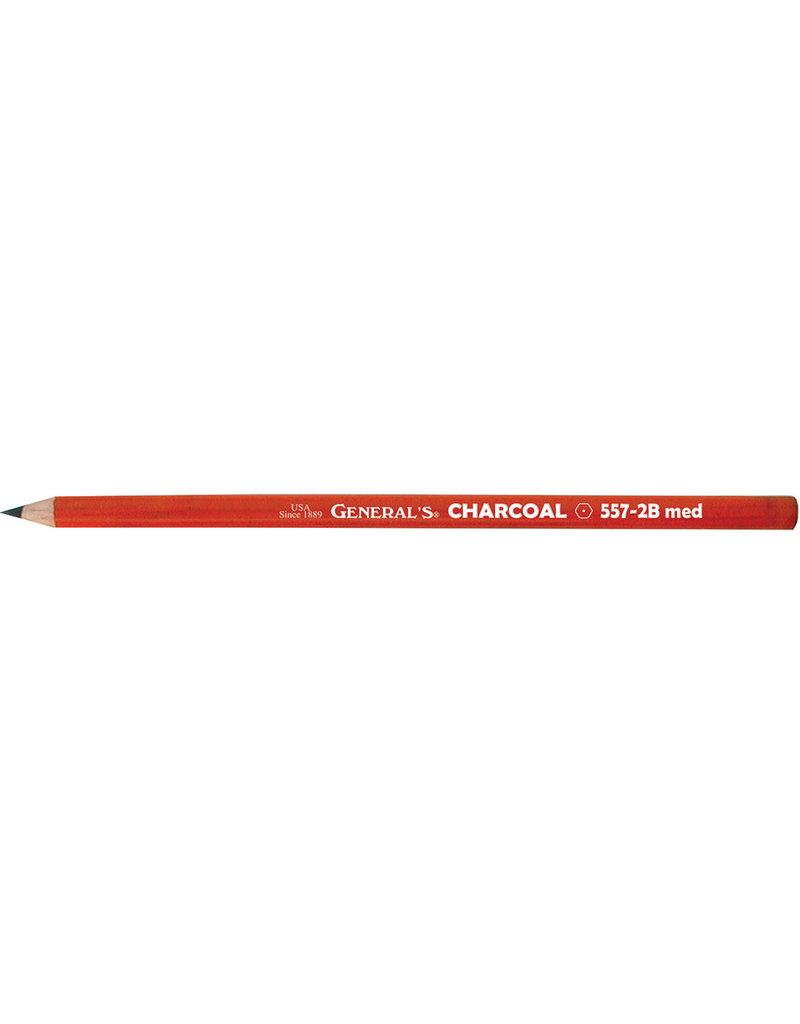 General Pencil Charcoal Pencil 2B