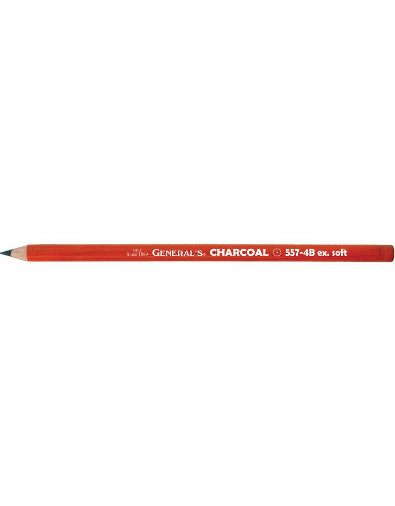 General Pencil Charcoal Pencil 4B