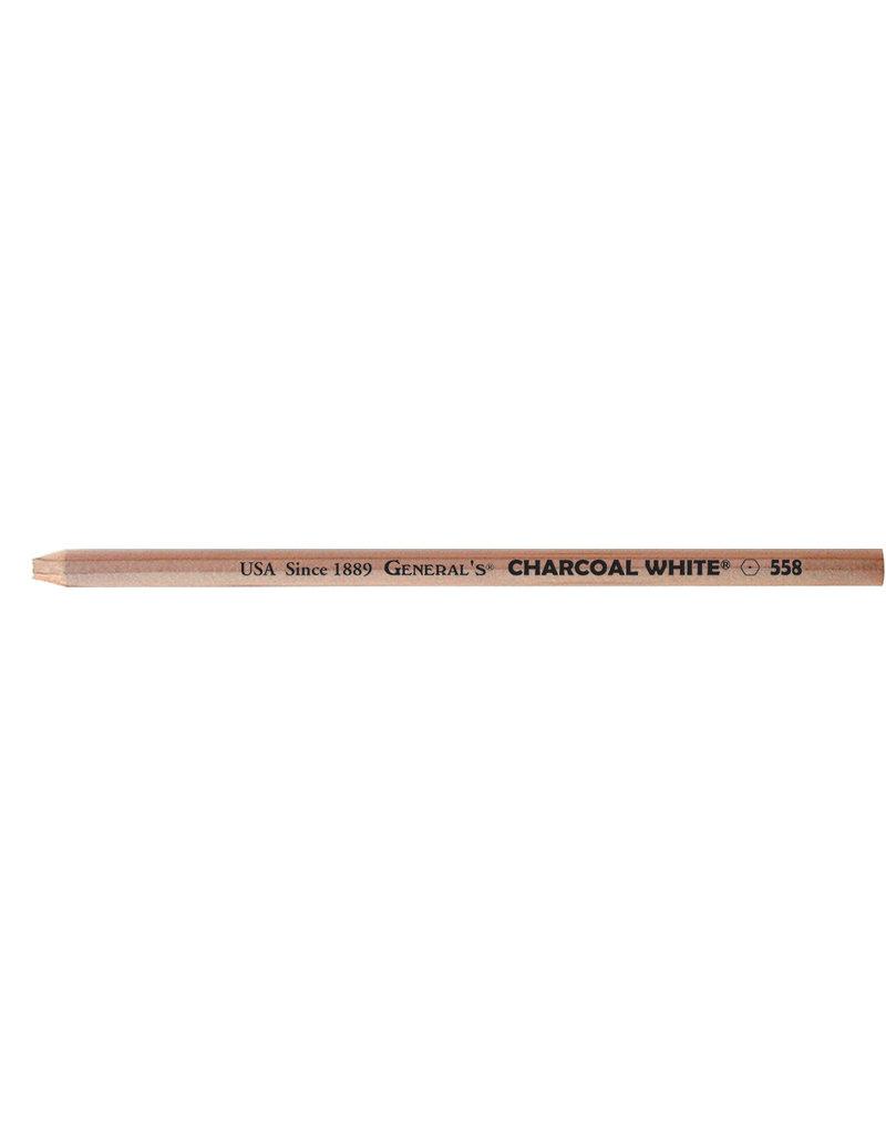 General Pencil Charcoal Pencil White