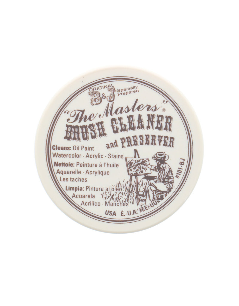 General Pencil The Masters Brush Cleaner, 2-1/2 oz.
