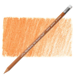 General Pencil Pastel Chalk Pencil Burnt Sienna