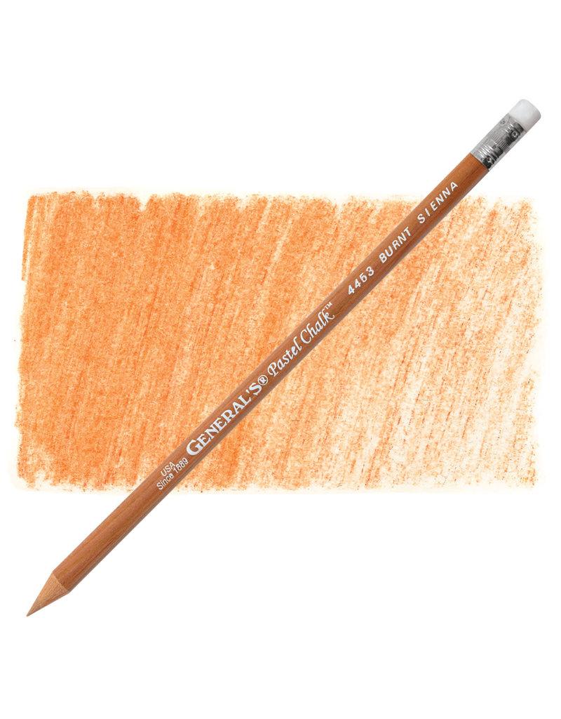 General Pencil Pastel Chalk Pencil Burnt Sienna