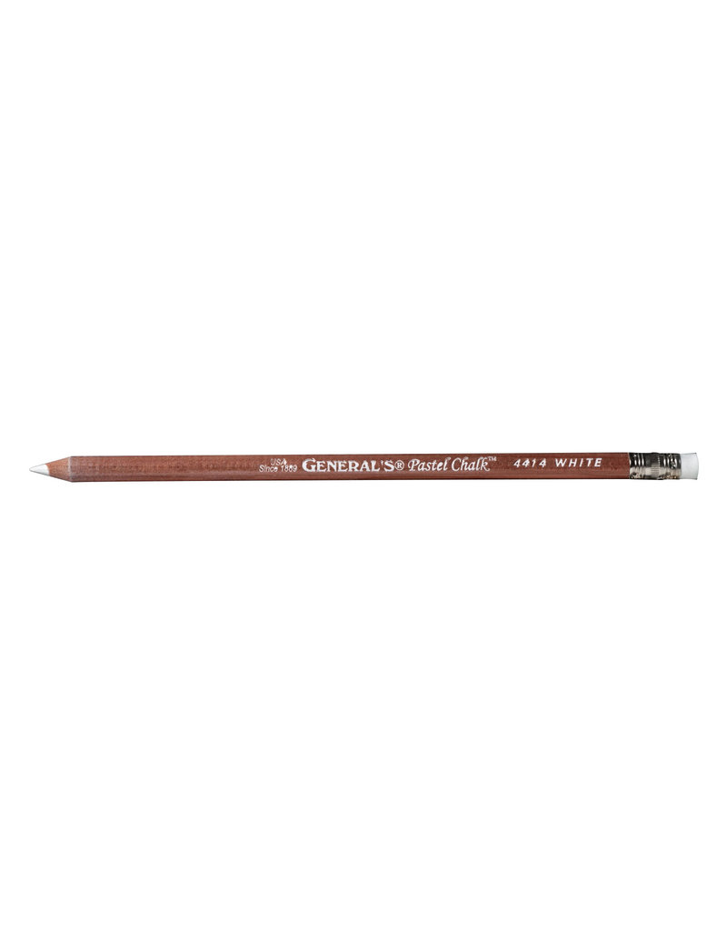 General Pencil Pastel Chalk Pencil White