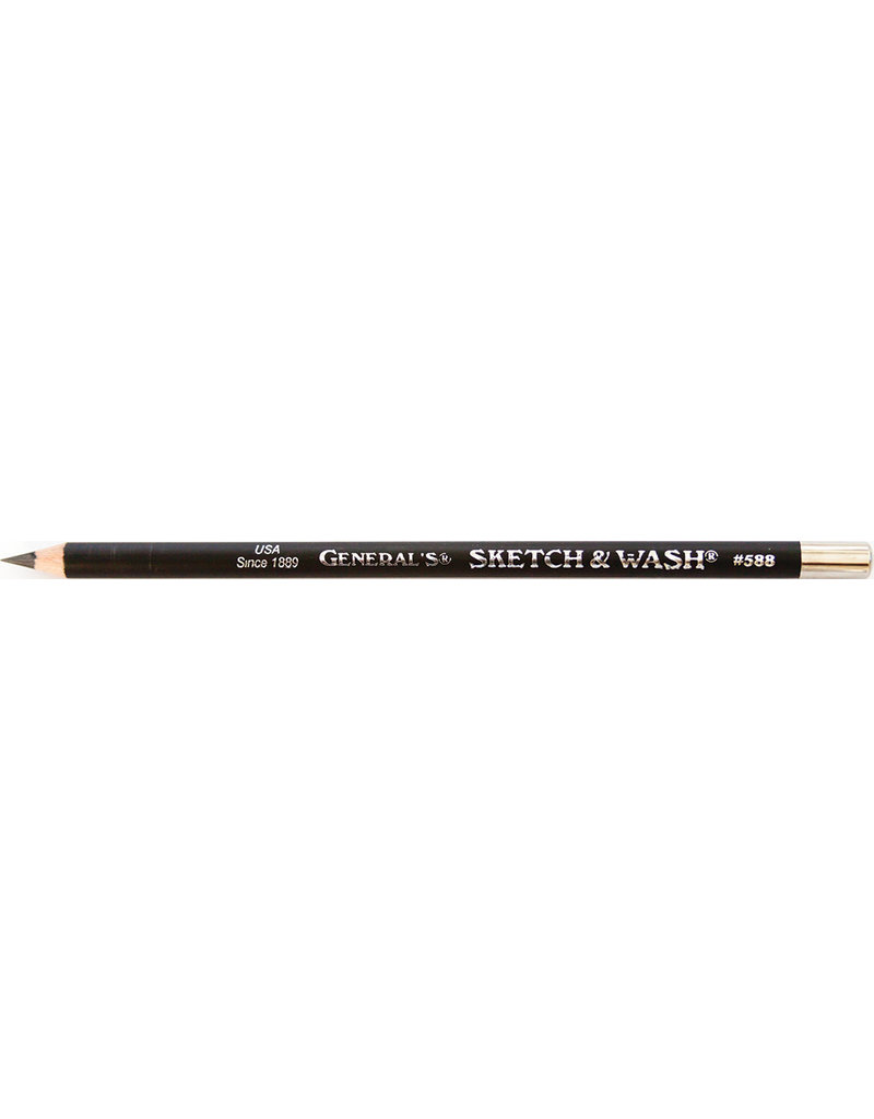 General Pencil Sketch And Wash Pencil
