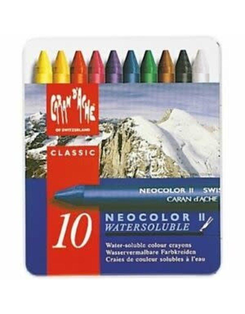 Neocolor II Neocolor Il, Metal Box 10 Pastels Assorted