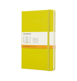 Moleskine Moleskine Classic Notebook, Large, Ruled, Yellow Dandelion, Hard Cover (5 X 8.25)