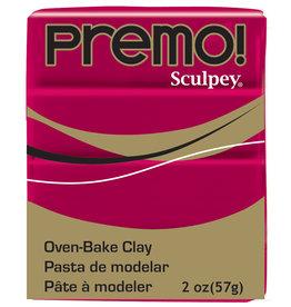 Sculpey Premo 2Oz Alizarin Crimson
