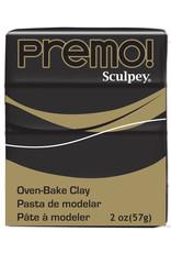 Sculpey Premo 2Oz Black