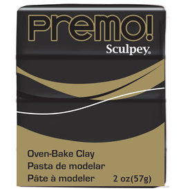 Sculpey Premo 2Oz Black