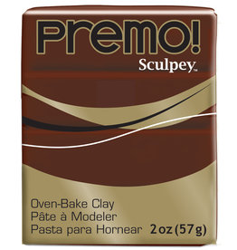 Sculpey Premo 2Oz Burnt Umber