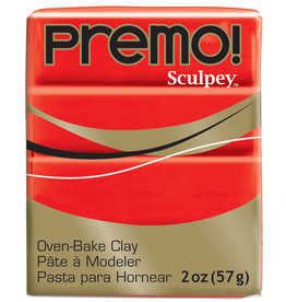 Sculpey Premo 2Oz Cadmium Red