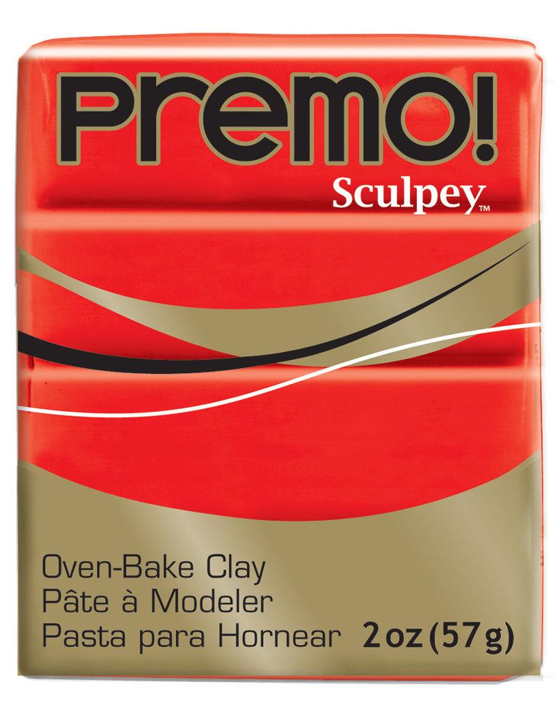 Sculpey Premo 2Oz Cadmium Red