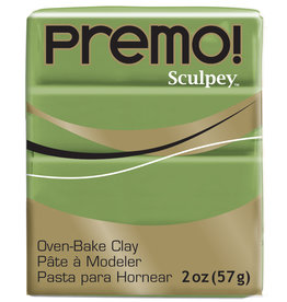 Sculpey Premo 2Oz Spanish Olive