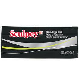Sculpey Sculpey III 1Lb Black