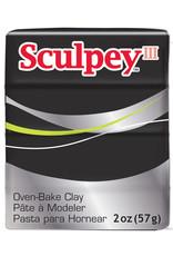 Sculpey Sculpey  Iii 2Oz Black