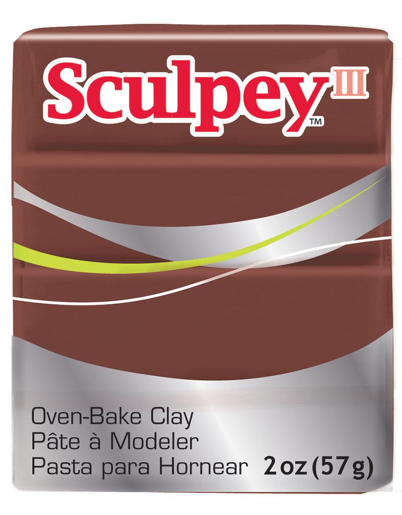 Sculpey Sculpey Iii 2Oz Chocolate