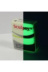 Sculpey Sculpey  Iii 2Oz Glow-N-The Dark