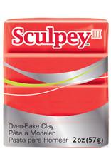 Sculpey Sculpey  Iii 2Oz Red Hot Red