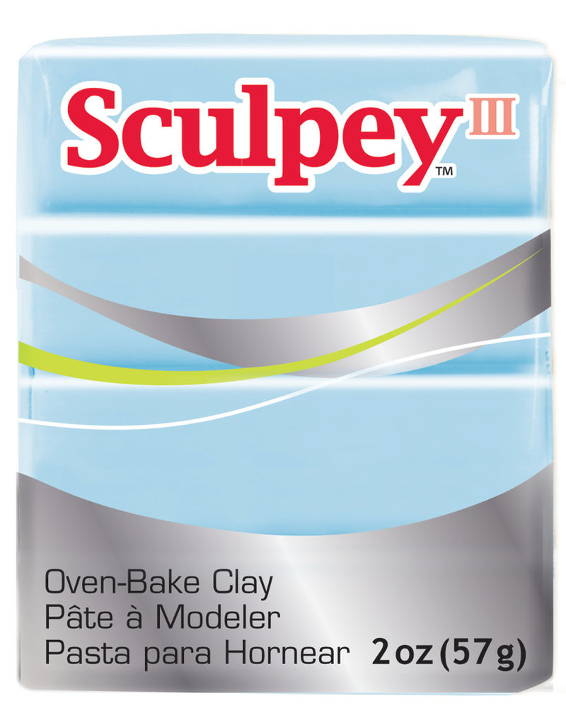 Sculpey Sculpey  Iii 2Oz Sky Blue