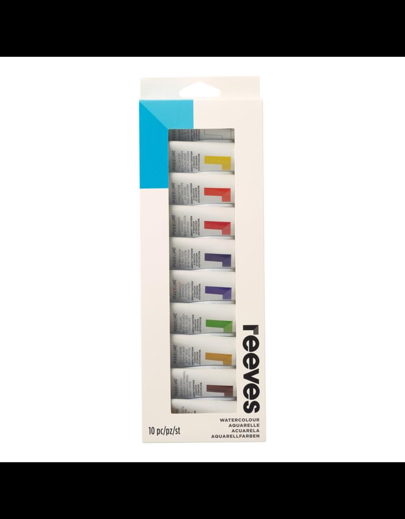 Reeves Reeves Watercolor Set 10X22Ml Tube