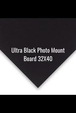 Crescent Board Ultra Black Photo Mount Board 32X40