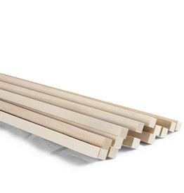 Midwest Basswood 3/8X3/8X24