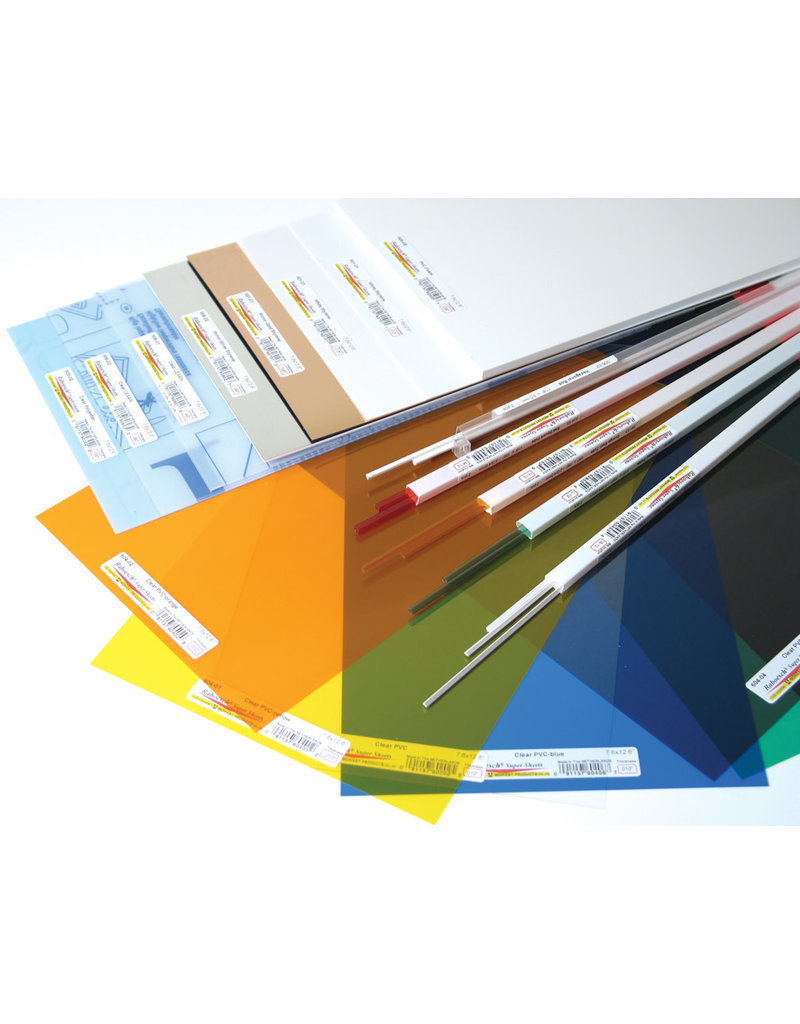 Midwest Clear Pvc Sheets .010