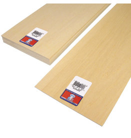 Midwest Basswood Sheet 1/16X6X24