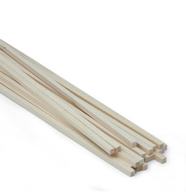 Midwest Basswood 1/4X1/4X24