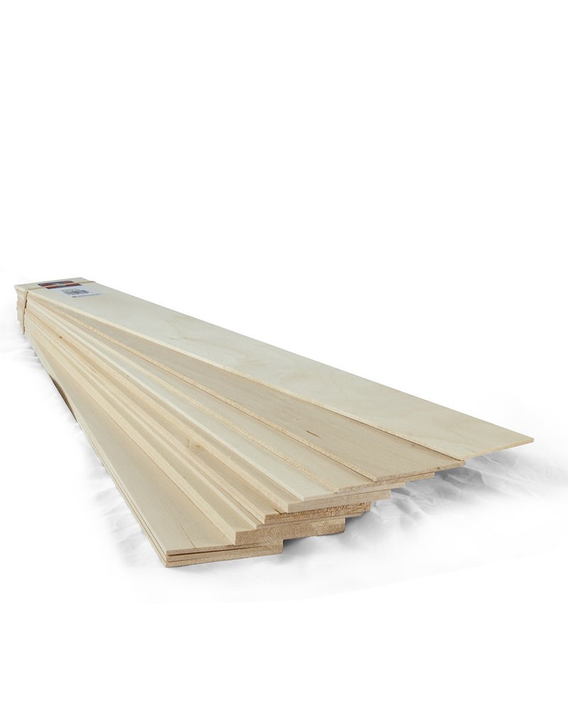 Midwest Basswood 1/8X3X24