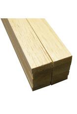 Midwest Balsa Wood, Sheets 3/8'' X 1'' X 36''