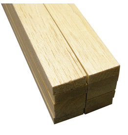 Midwest Balsa Wood, Sheets 3/8'' X 1'' X 36''