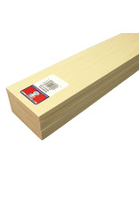 Midwest Basswood 3/8X3X24