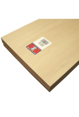 Midwest Basswood Sheet 1/4X8X24