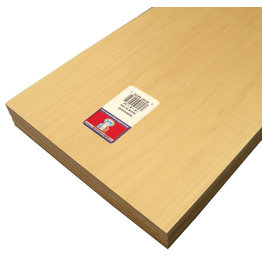 Midwest Basswood Sheet 1/8X8X24