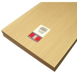 Midwest Basswood Sheet 3/32X8X24