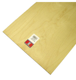 Midwest Birch Plywood 1/4X12X24