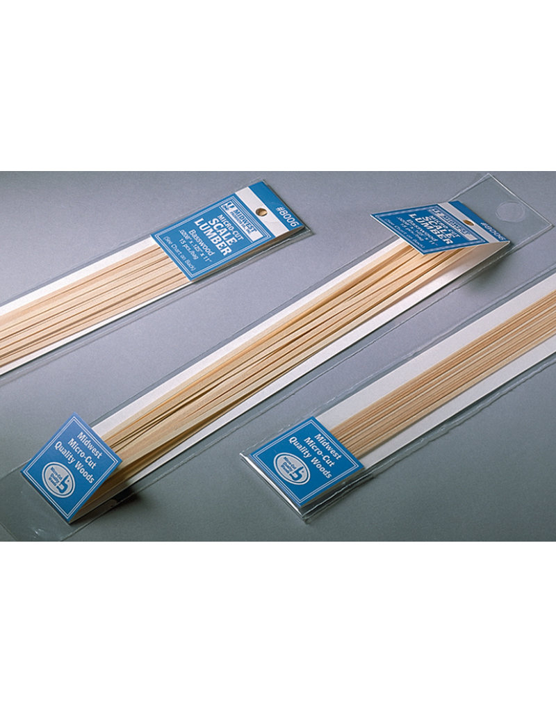 Midwest Scale Lumber .0208X.0208X11 Pk/17