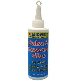 Midwest Glue For Balsa/Basswood 4Oz
