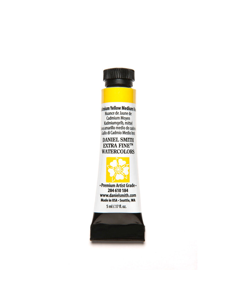 Daniel Smith Watercolor 5Ml Cadmium Yellow Medium Hue