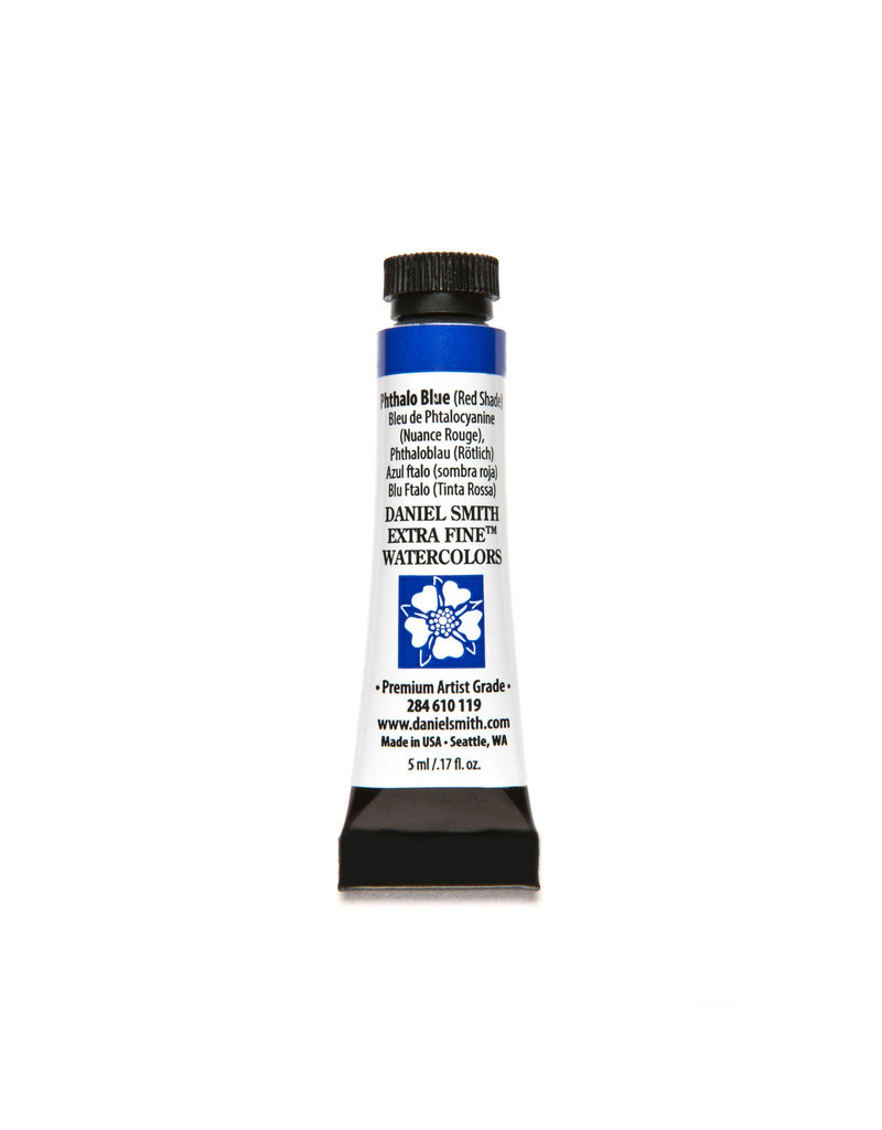 Daniel Smith Watercolor 5Ml Phthalo Blue (Red Shade)